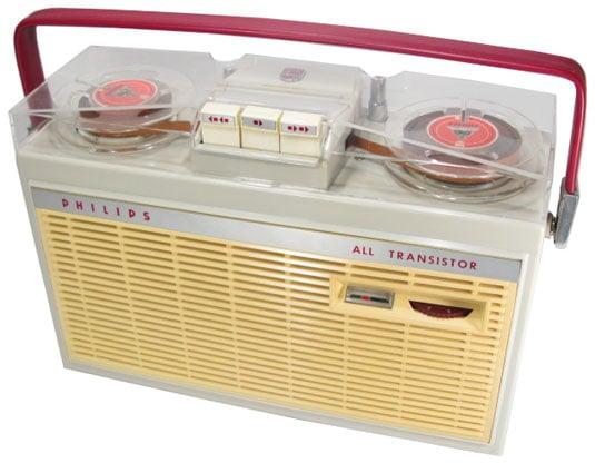 Philips EL 3585 portable reel-to-reel tape recorder