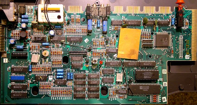 Enterprise 64: the motherboard