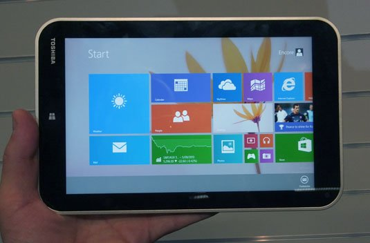 Toshiba Encore Windows 8.1 tablet