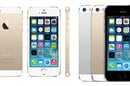 Photo of the iPhone 5S in various colors