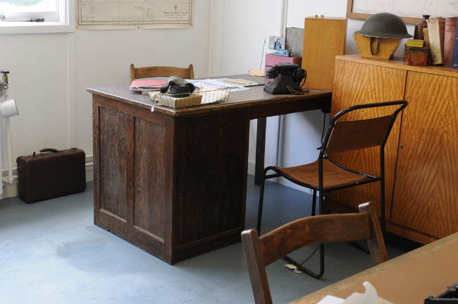 Alan Turing's office in Hut 8, photo: Gavin Clarke