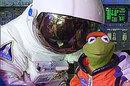 Photo of Kermit the Frog at NASA