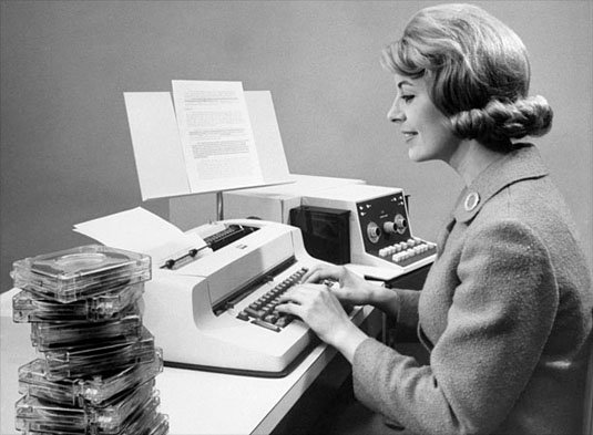 IBM Selectric MT/ST with tapes