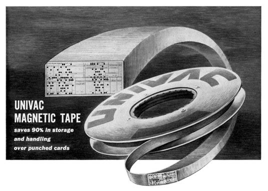 UNIVAC data tape advertisement