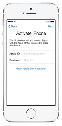 Apple's iOS 7 Activation Lock won't allow you to activate a lost or stolen iDevice unless you know the owner's Apple ID and password