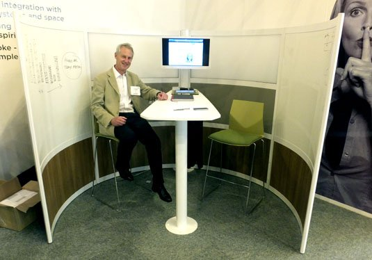 Icon Privas screened breakout area