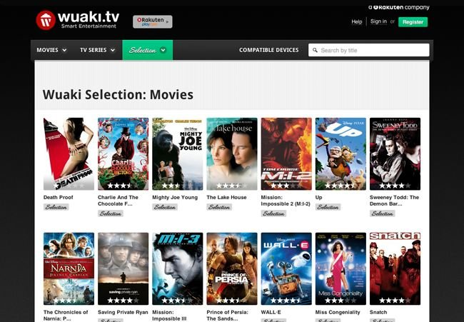 Wuaki.tv Selection