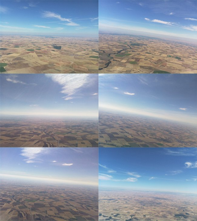 Montage of aerial stills from our Raspberry Picam