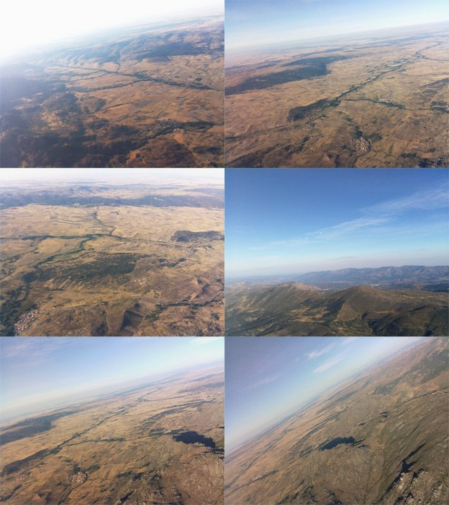 A montage of aerial stills from our Raspberry Picam