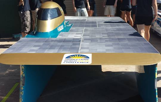JU Solar Team Sweden's WSC entry