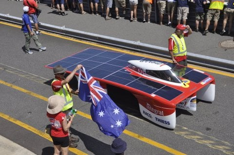 Team Arrow World Solar Challenge Car