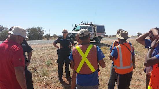 South Australian Police Advise Team Blue Sky Solar
