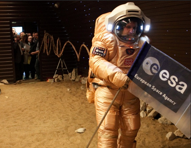 Mars 500 Mars Walk, photo ESA