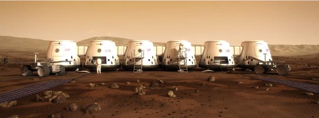 Mars One, credit Mars One
