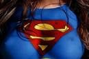 Superwoman Logo on Chest