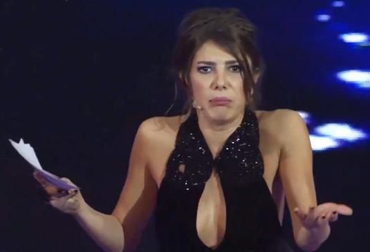 Gözde Kansu in the offending dress
