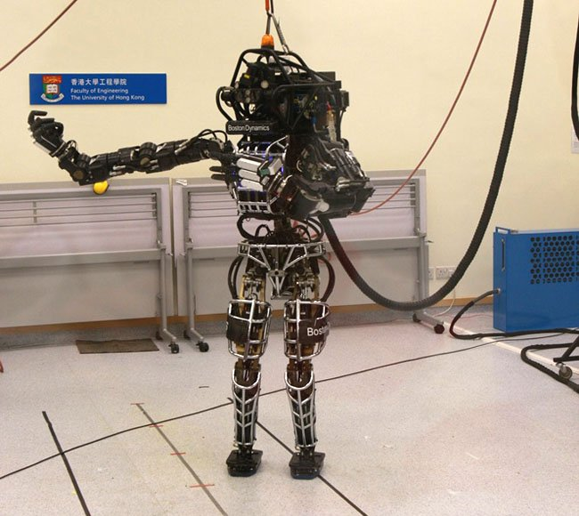 Boston Dynamics Atlas at Hong Kong Uni