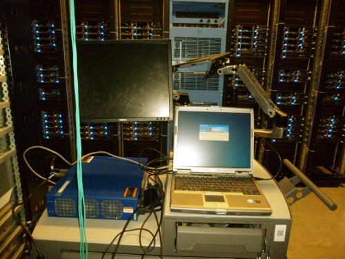 A Windows XP machine in a Facebook data center