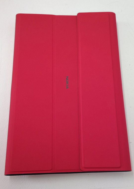 Lumia 2520 with keyboard wrapper