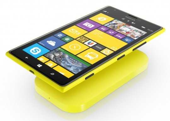 Nokia 1520 - wireless charging built in