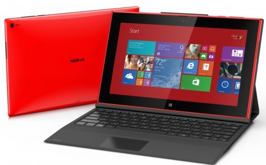 Noki Lumia 2525 - it's a windows RT slab