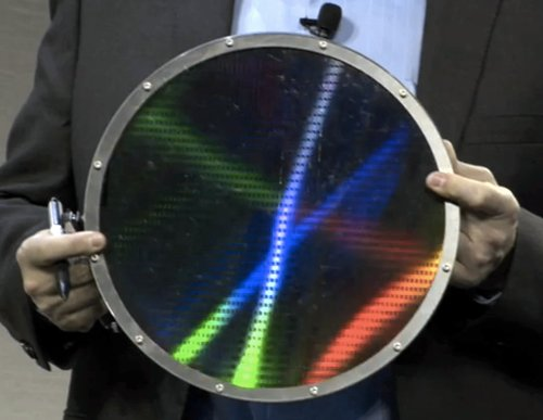Memristor wafer