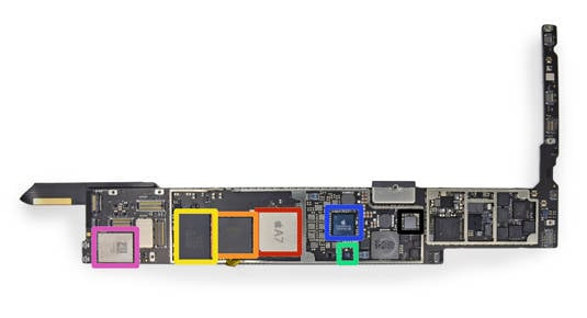 iPad Air logic board