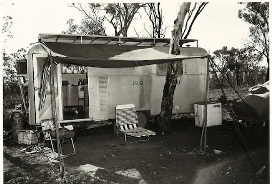 Construction hut, Alice-Darwin Microwave