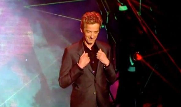 Peter Capaldi channels William H