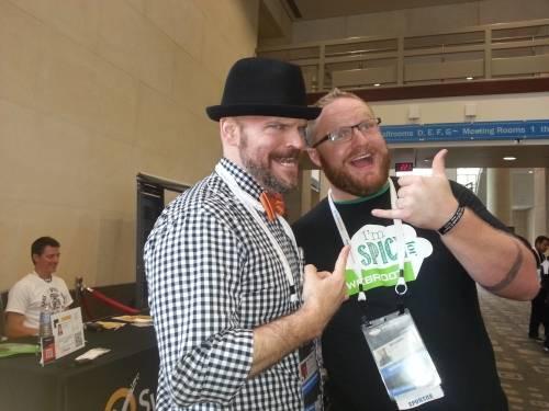 Matt Stephenson and Richard Melick