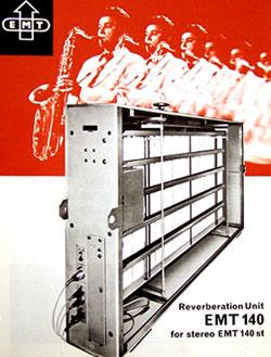 EMT 140 plate reverb unit