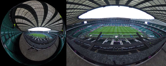 Twickenham Rugby Ground - empty