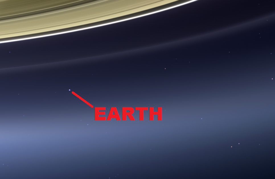 Cassini Releases Image Of Earth Waving At Saturn: SPACE, The FINAL FRONTIER: These Are The Images Of The