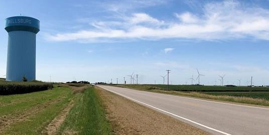 Facebook's Wellsburg, Iowa wind farm