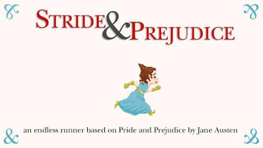 The Stride and Prejudice game