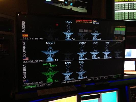 MAVEN mission control