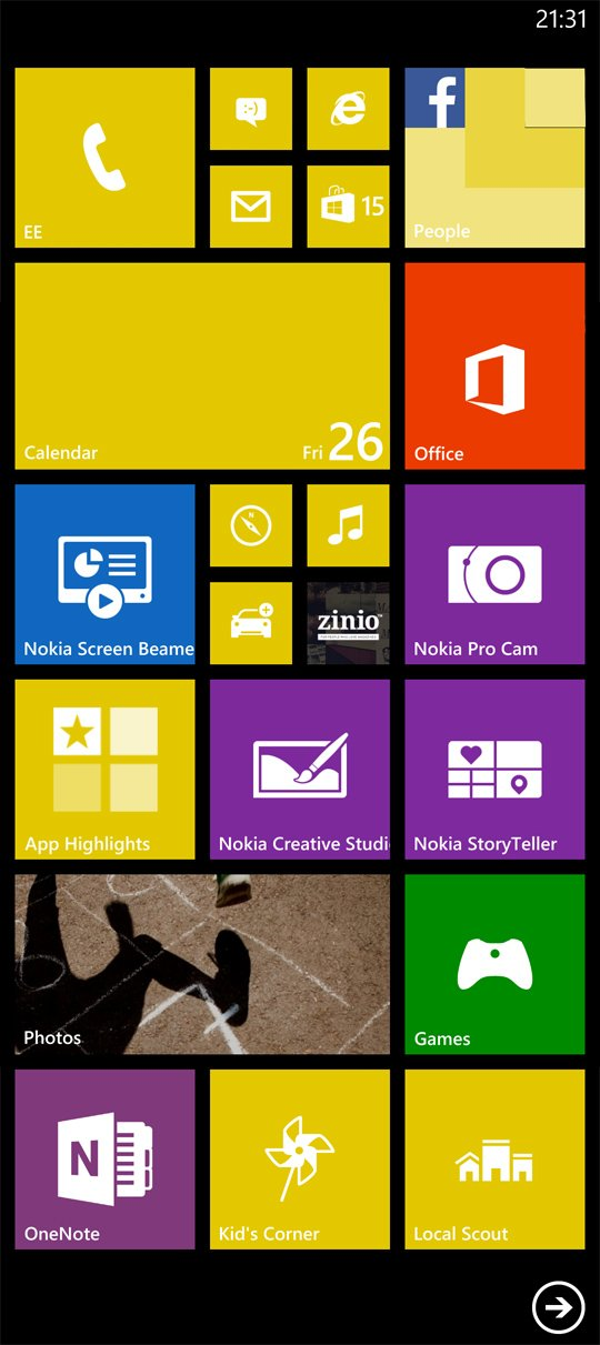 Nokia Lumia 1520 And Nokia Lumia 1020 Viewfinder Screen | Apps ...