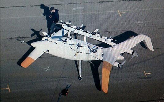 Zee.Aero's prototype aircraft
