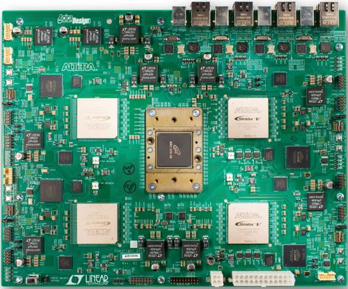 MIcron Altera FPGA HMC board