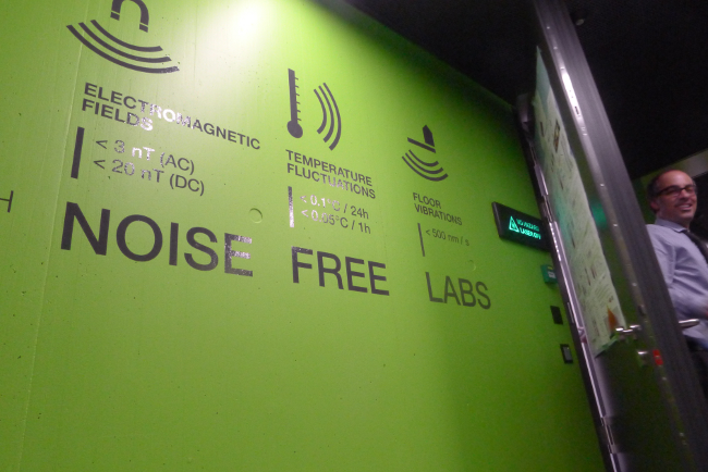IBM Zurich noise-free labs, photo: Gavin Clarke