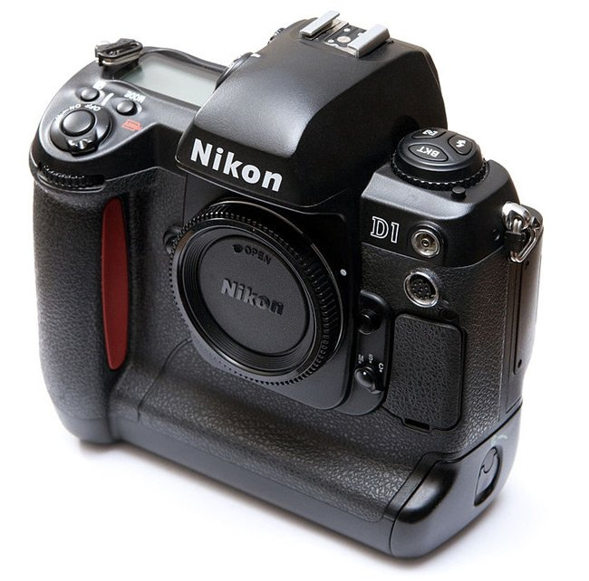 The Nikon D1. Photo: Ashley Pomeroy
