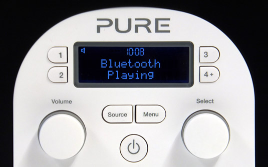 Pure Evoke D2 with Bluetooth front panel