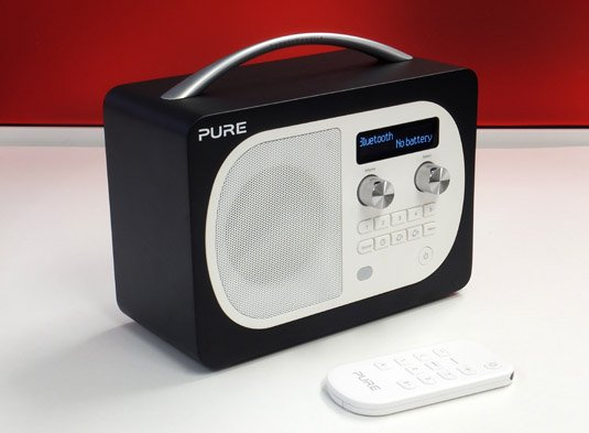Pure Evoke D4 with Bluetooth front panel