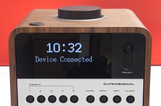 Revo Supersignal with Bluetooth front panel