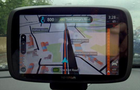 TomTom GO 6000 congestion