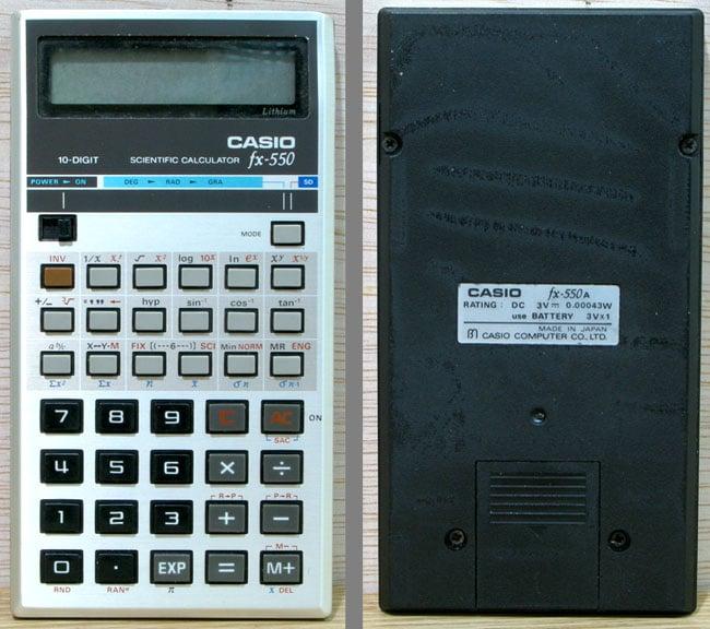 Casio FX-550