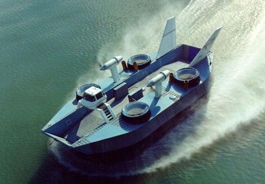 Bertin's N300 hovercraft