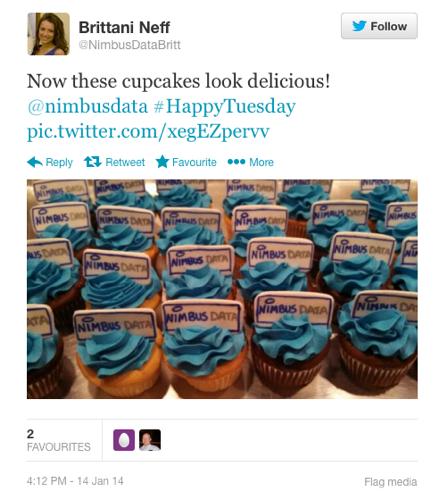Nimbus cup cakes