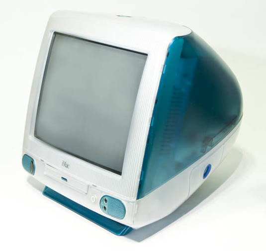 The original 'Bondi Blue' iMac G3