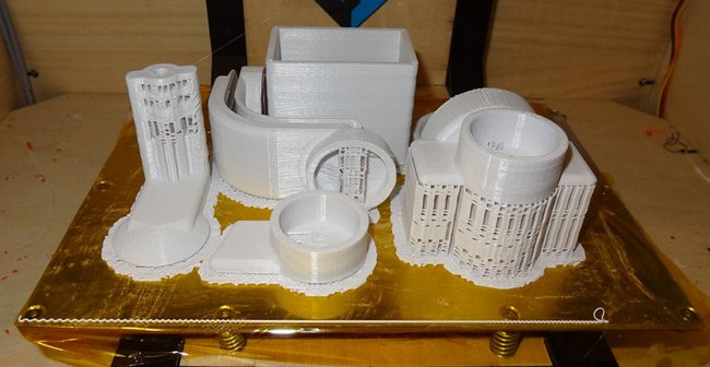 The Stubilizer parts just after printing